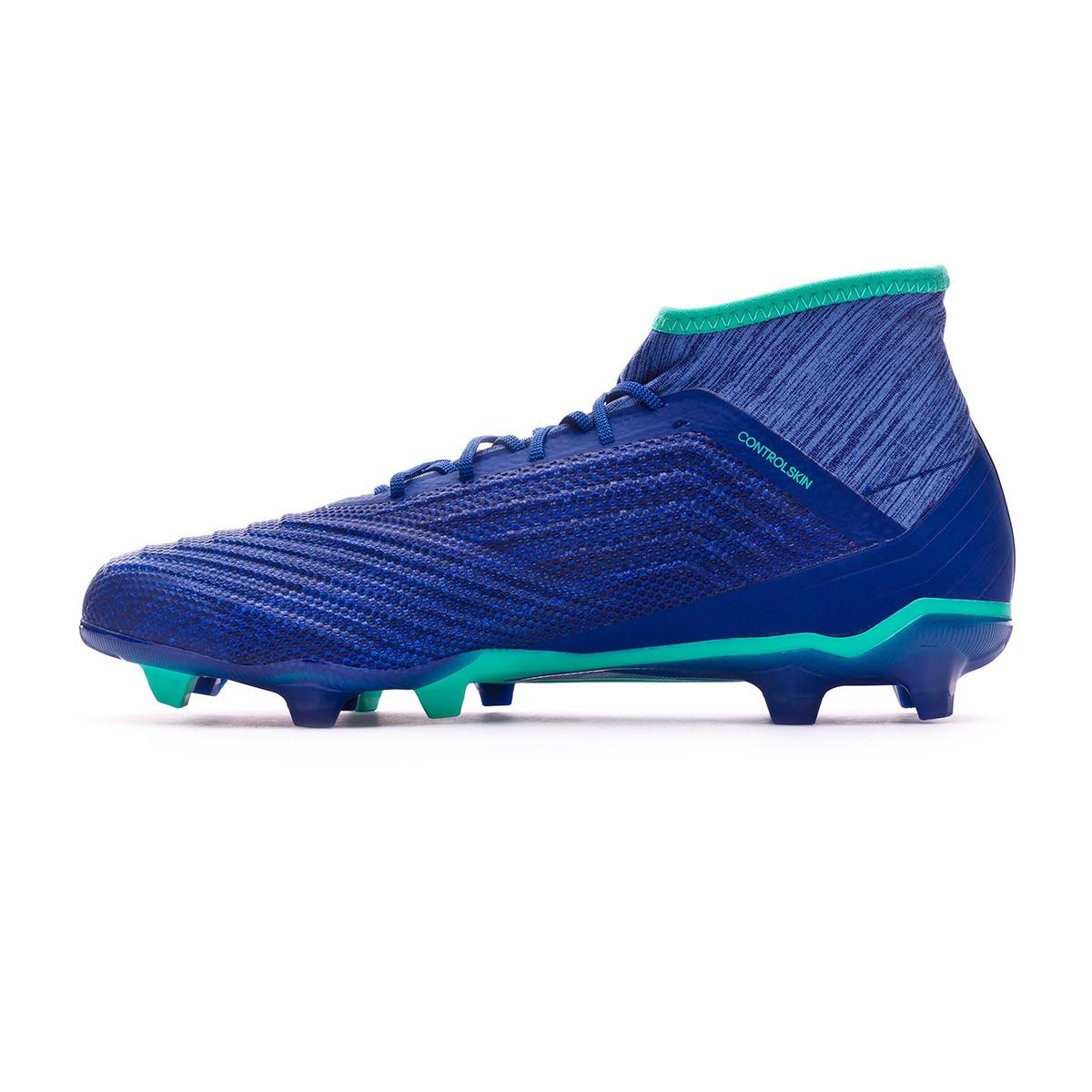 016543b4964b Zapatos de fútbol adidas Predator 18.2 FG Unity ink-Aero green-Hi-res green  - Tienda de fútbol Fútbol Emotion