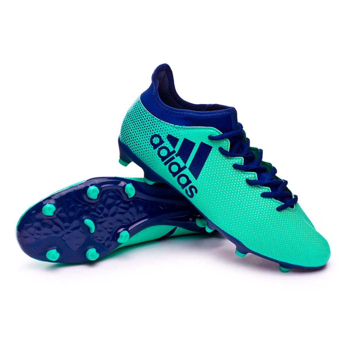Boot adidas X 17.3 FG Aero green-Unity ink-Hi-res green ... c57d96080