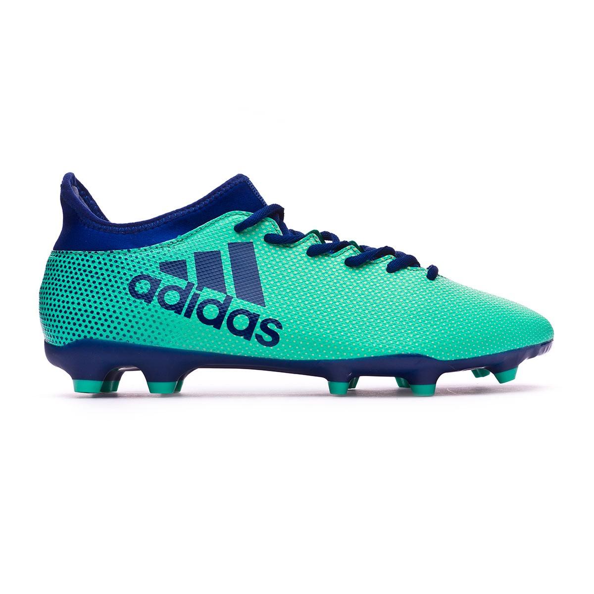 Boot adidas X 17.3 FG Aero green-Unity ink-Hi-res green - Soloporteros es  ahora Fútbol Emotion 9fd531fec