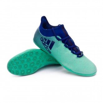 Futsal Boot  adidas X Tango 17.3 IN Aero green-Unity ink-Hi-res green