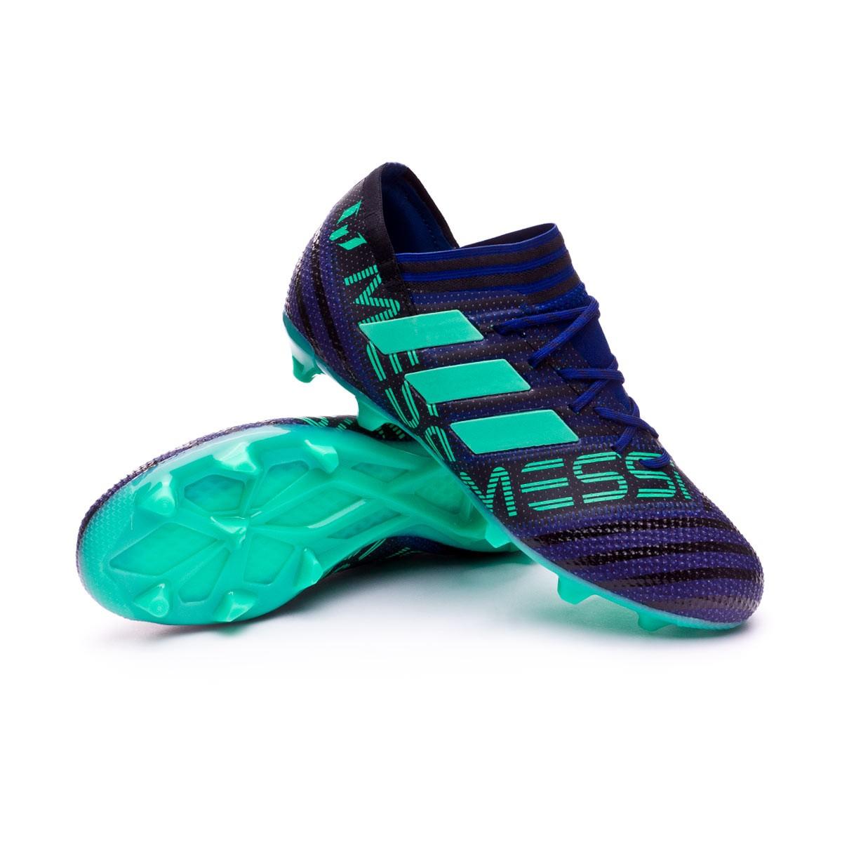 best loved 01850 bee41 Zapatos de fútbol adidas Nemeziz Messi 17.1 FG Niño Unity ink-Hi-res  green-Core Black - Soloporteros es ahora Fútbol Emotion