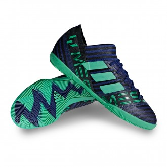 Chaussure de futsal  adidas Nemeziz Messi Tango 17.3 IN Niño Unity ink-Hi-res green-Core Black