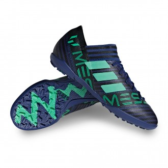 Football Boot  adidas Nemeziz Messi Tango 17.3 Turf Niño Unity ink-Hi-res green-Core Black