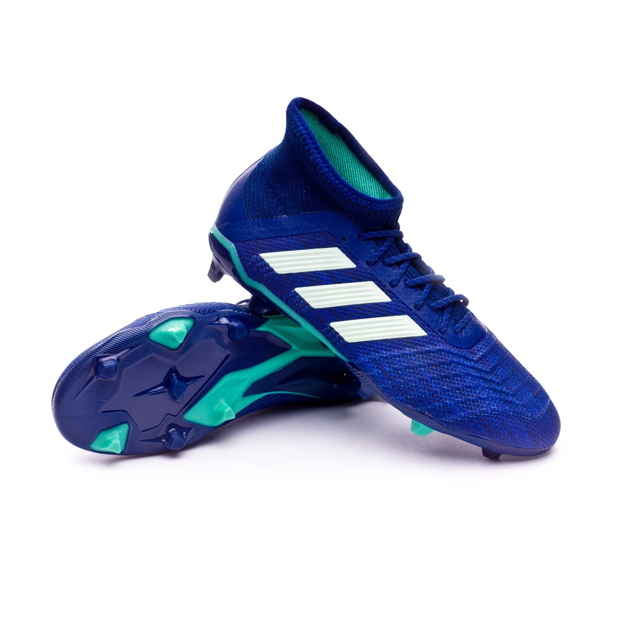 cd6b0af6ed4 adidas Kids Predator 18.1 FG Football Boots. Unity ink-Aero green-Hi-res ...