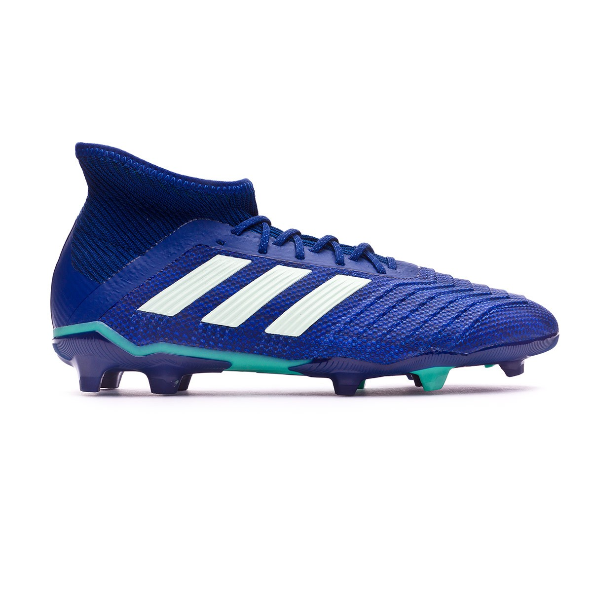 78e867d48df9 Chaussure de foot adidas Predator 18.1 FG enfant Unity ink-Aero green-Hi-res  green - Boutique de football Fútbol Emotion