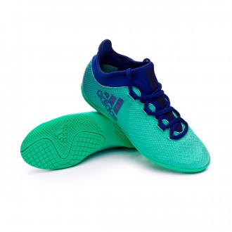 Futsal Boot  adidas X Tango 17.3 IN Niño Aero green-Unity ink-Hi-res green
