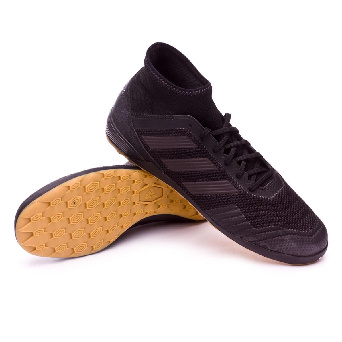 39280d7252e Zapatilla adidas Predator Tango 18.3 IN Core black-Real coral - Tienda de fútbol  Fútbol Emotion