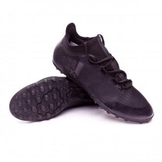 Sapatilhas  adidas X Tango 17.3 Turf Core black-Super cyan