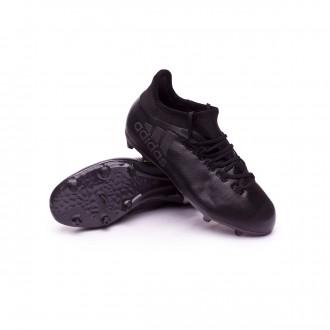 Bota  adidas X 17.1 FG Niño Core black-Super cyan