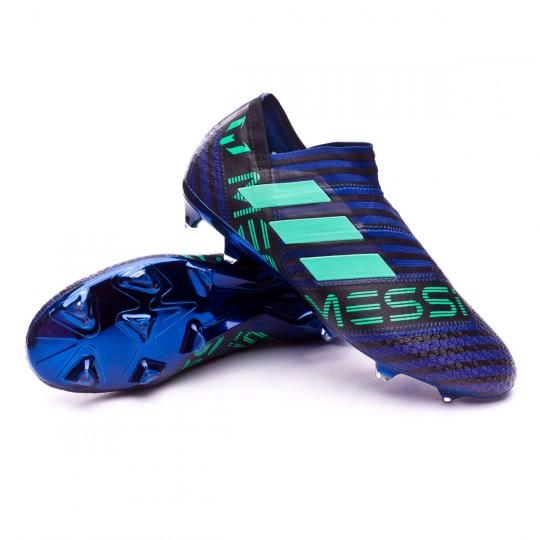Boot adidas Nemeziz Messi 17+ Agility FG Unity ink-Hi-res green-Core black  - Football store Fútbol Emotion 392936eba573f
