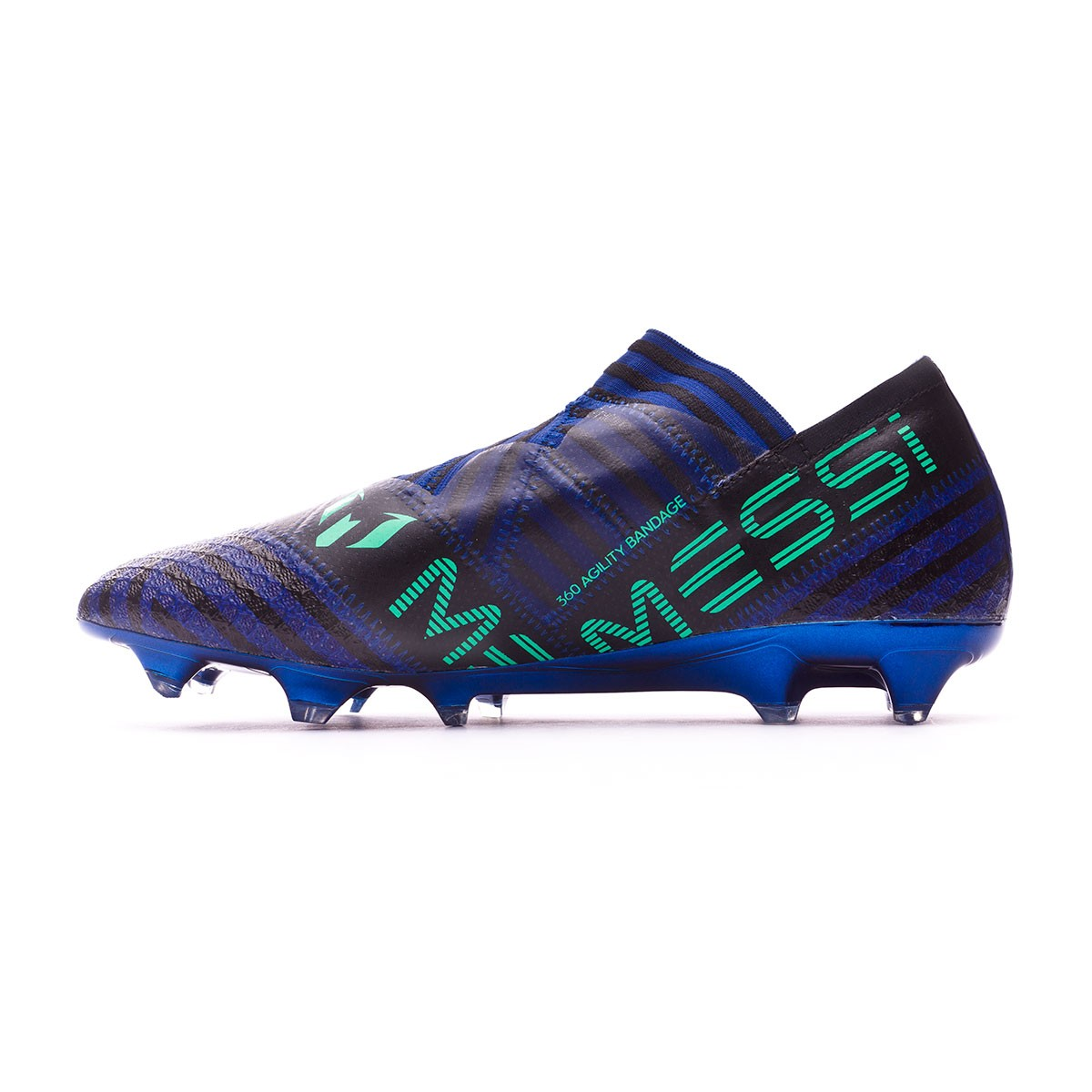e0ee8e61728b Football Boots adidas Nemeziz Messi 17+ Agility FG Unity ink-Hi-res green- Core black - Football store Fútbol Emotion