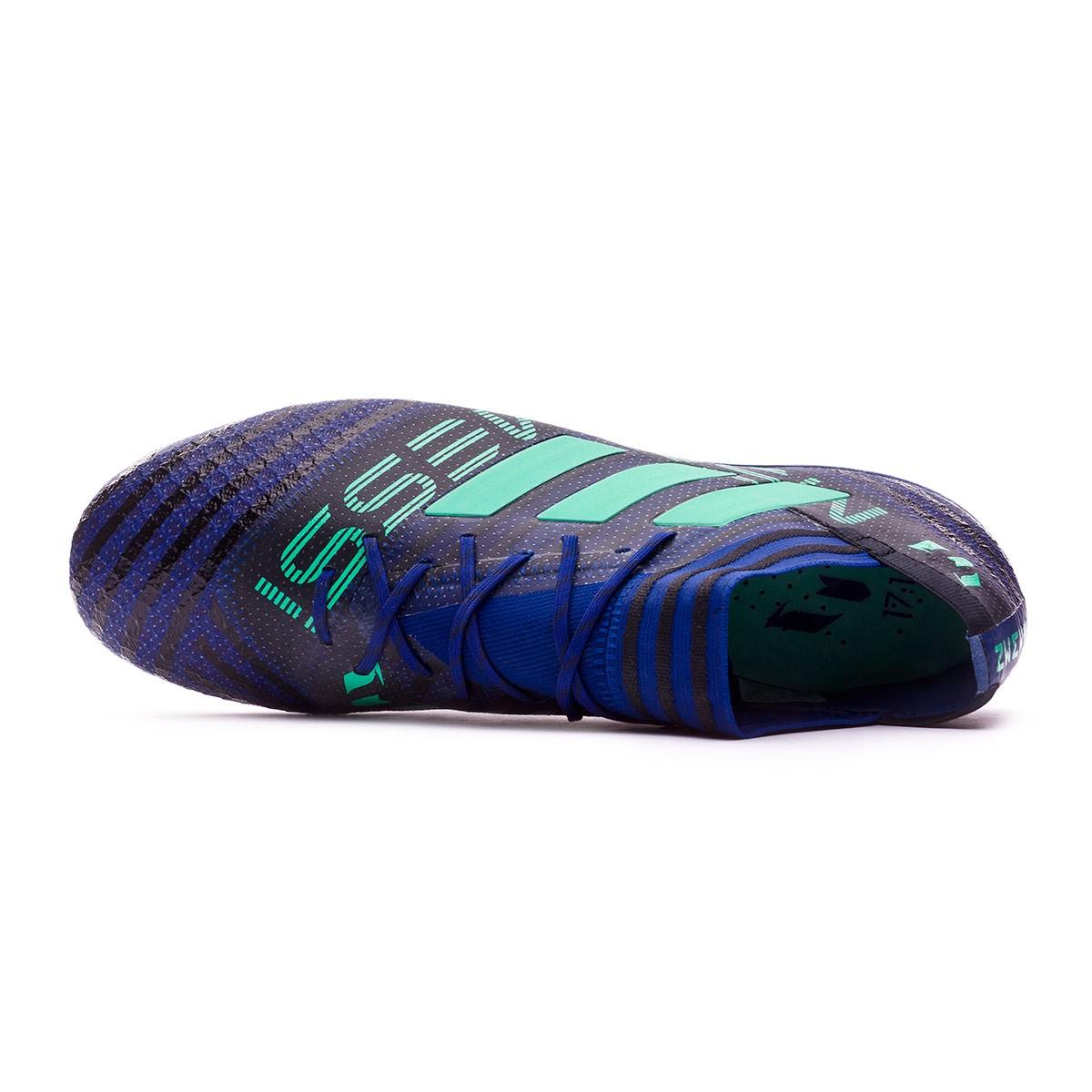 size 40 0f875 6b4e6 Zapatos de fútbol adidas Nemeziz Messi 17.1 FG Unity ink-Hi-res green-Core  black - Tienda de fútbol Fútbol Emotion
