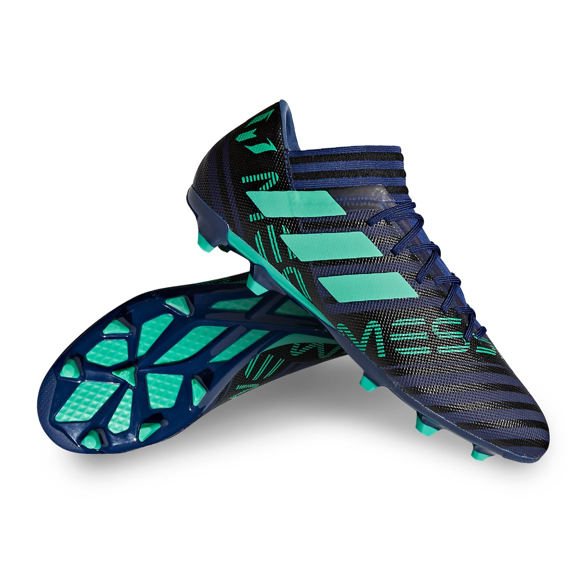 ef95a4e485d0 Football Boots adidas Nemeziz Messi 17.3 FG Unity ink-Hi-res green ...