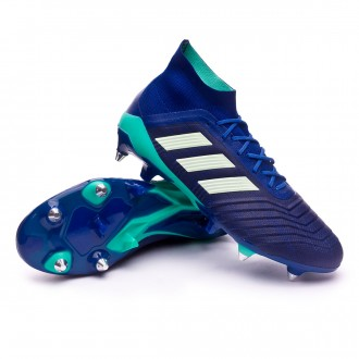 Chaussure de football  adidas Predator 18.1 SG Unity ink-Aero green-Hi-res green