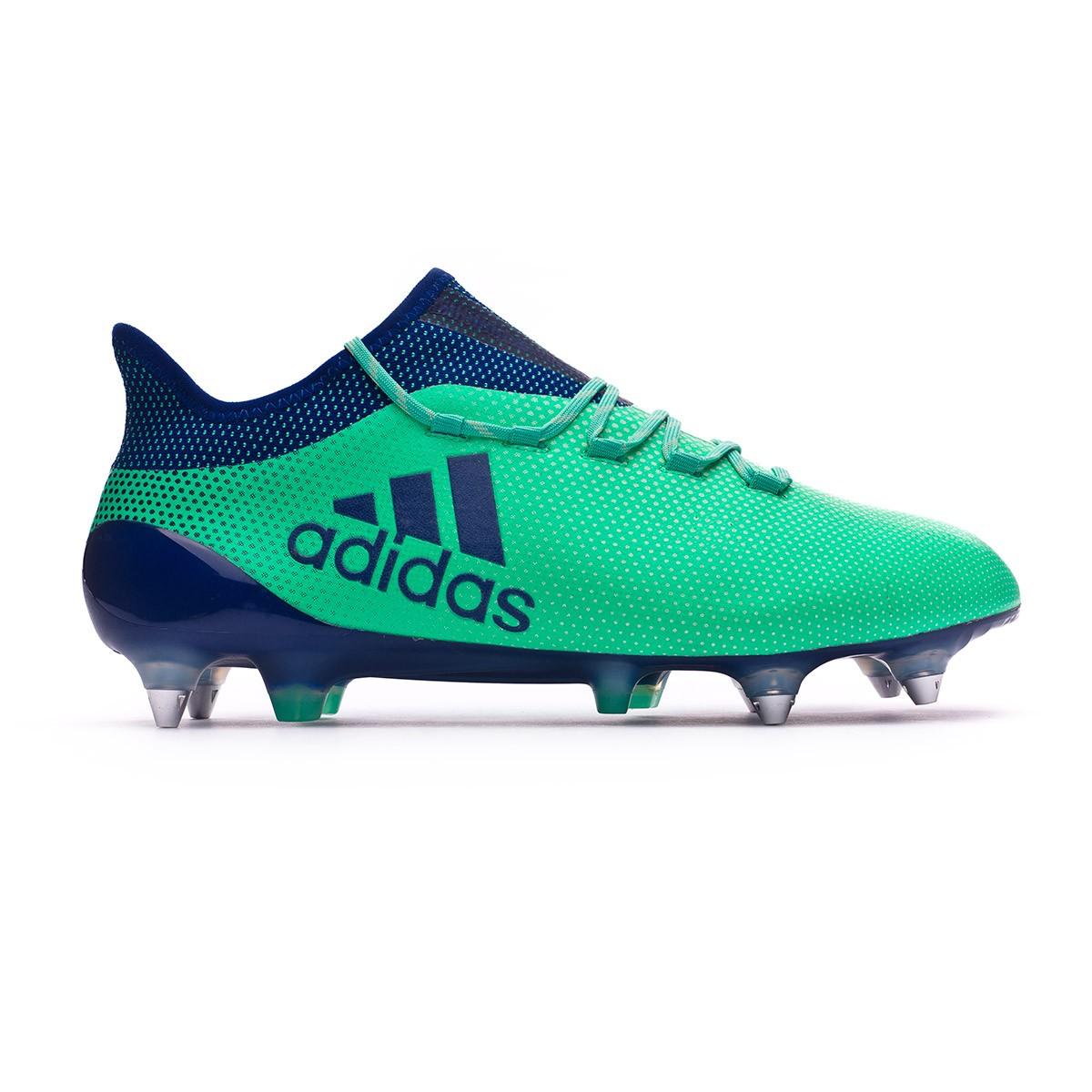 9c620df875b1 Football Boots adidas X 17.1 SG Aero green-Unity ink-Hi-res green - Tienda  de fútbol Fútbol Emotion