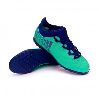 Football Boot  adidas X Tango 17.3 Turf Niño Hi-res green-Unity ink-Aero green