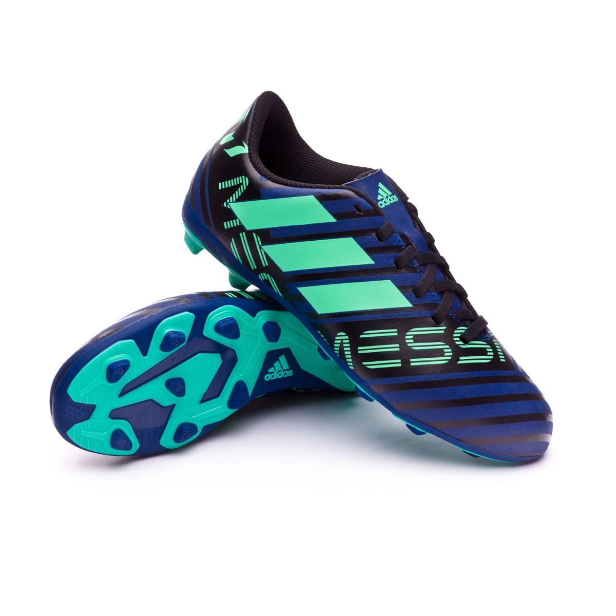 Zapatos de fútbol adidas Nemeziz Messi 17.4 FxG Niño Unity ink-Hi-res  green-Core black - Soloporteros es ahora Fútbol Emotion b1579e39f2214