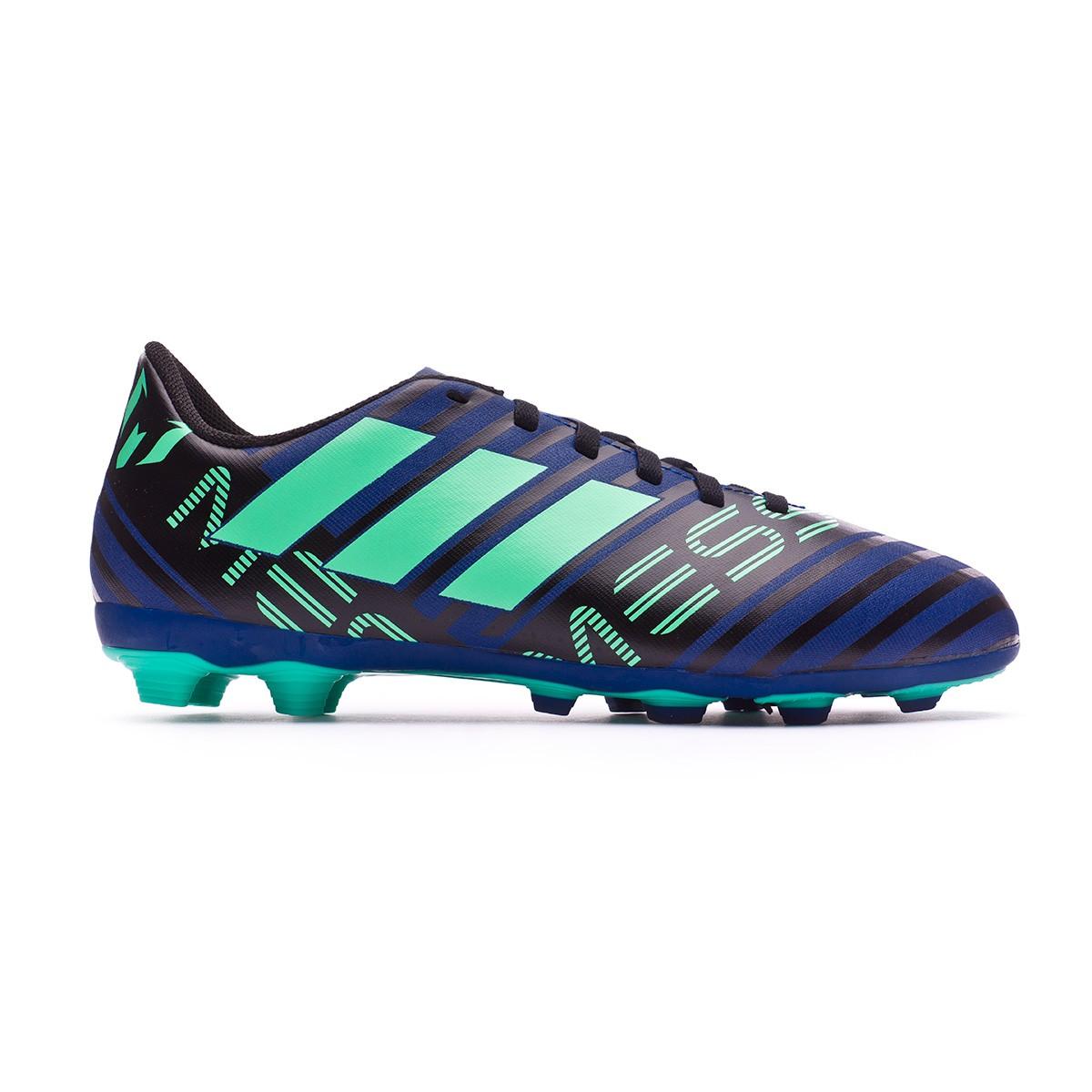 4876c92672c Football Boots adidas Kids Nemeziz Messi 17.4 FxG Unity ink-Hi-res green-Core  black - Football store Fútbol Emotion