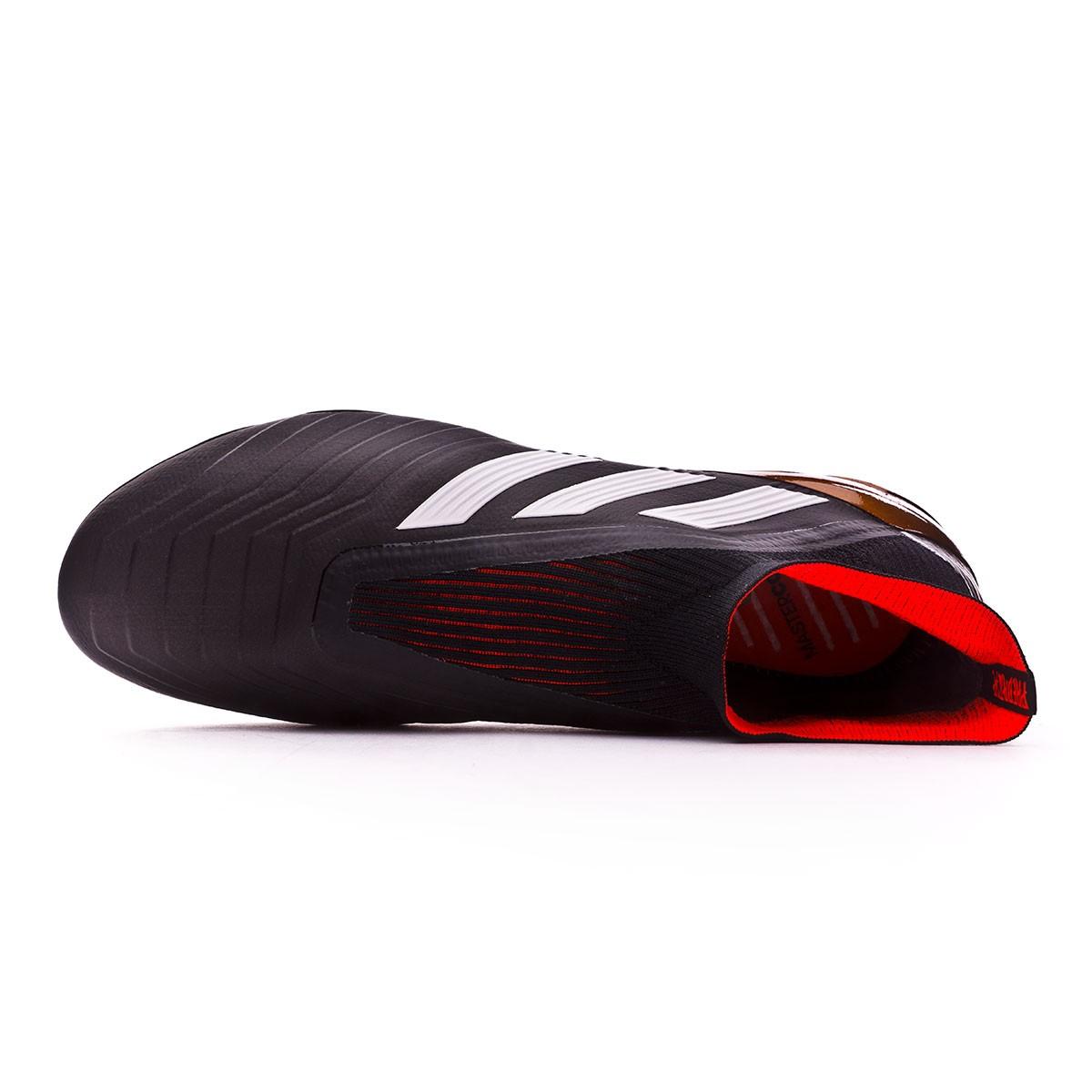 muchos de moda online aquí nueva llegada Bota Predator 18+ FG Core black-White-Gold metallic-Solar red