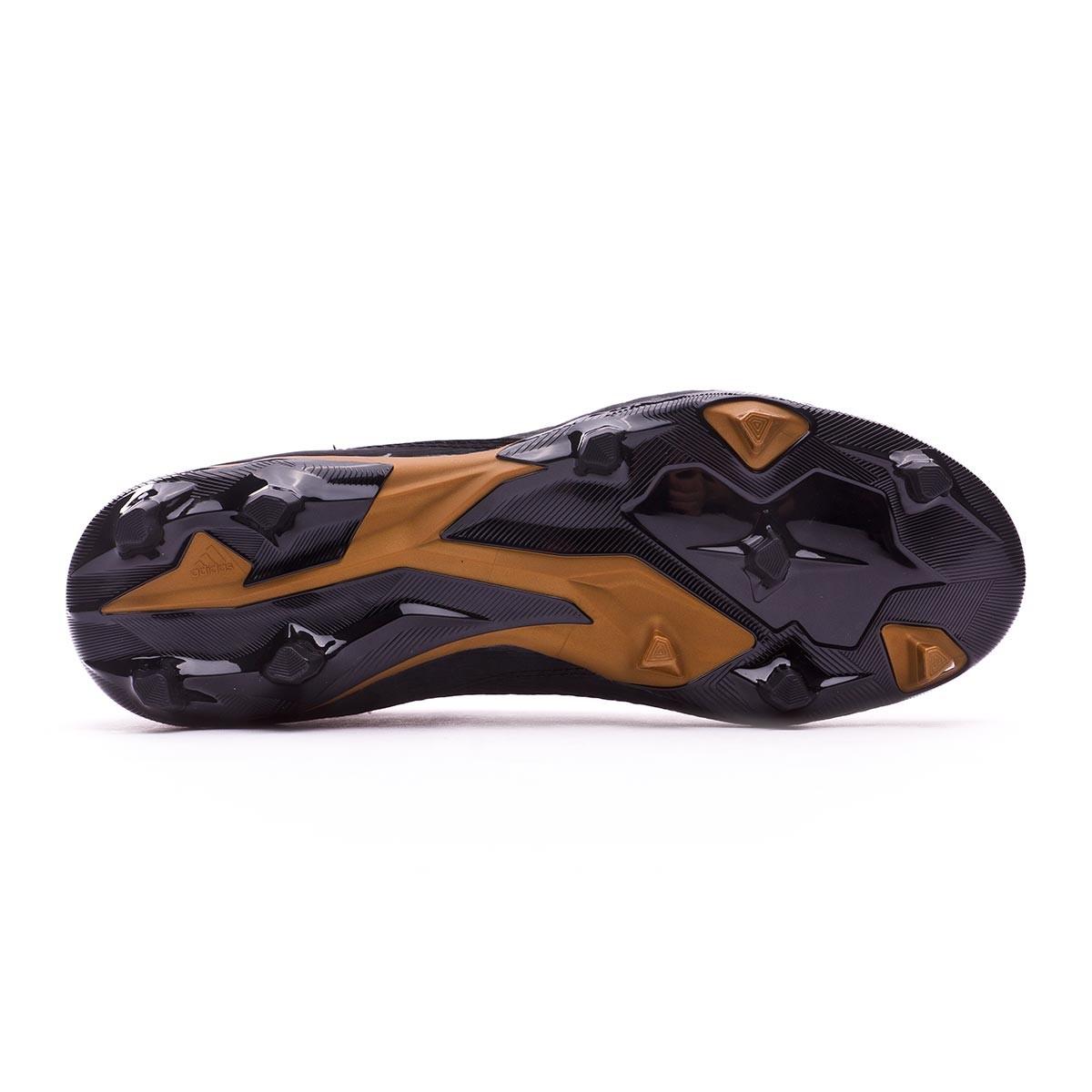 Bota de fútbol adidas Predator 18.3 FG Core black-White-Gold ... 311a38eeffb6a