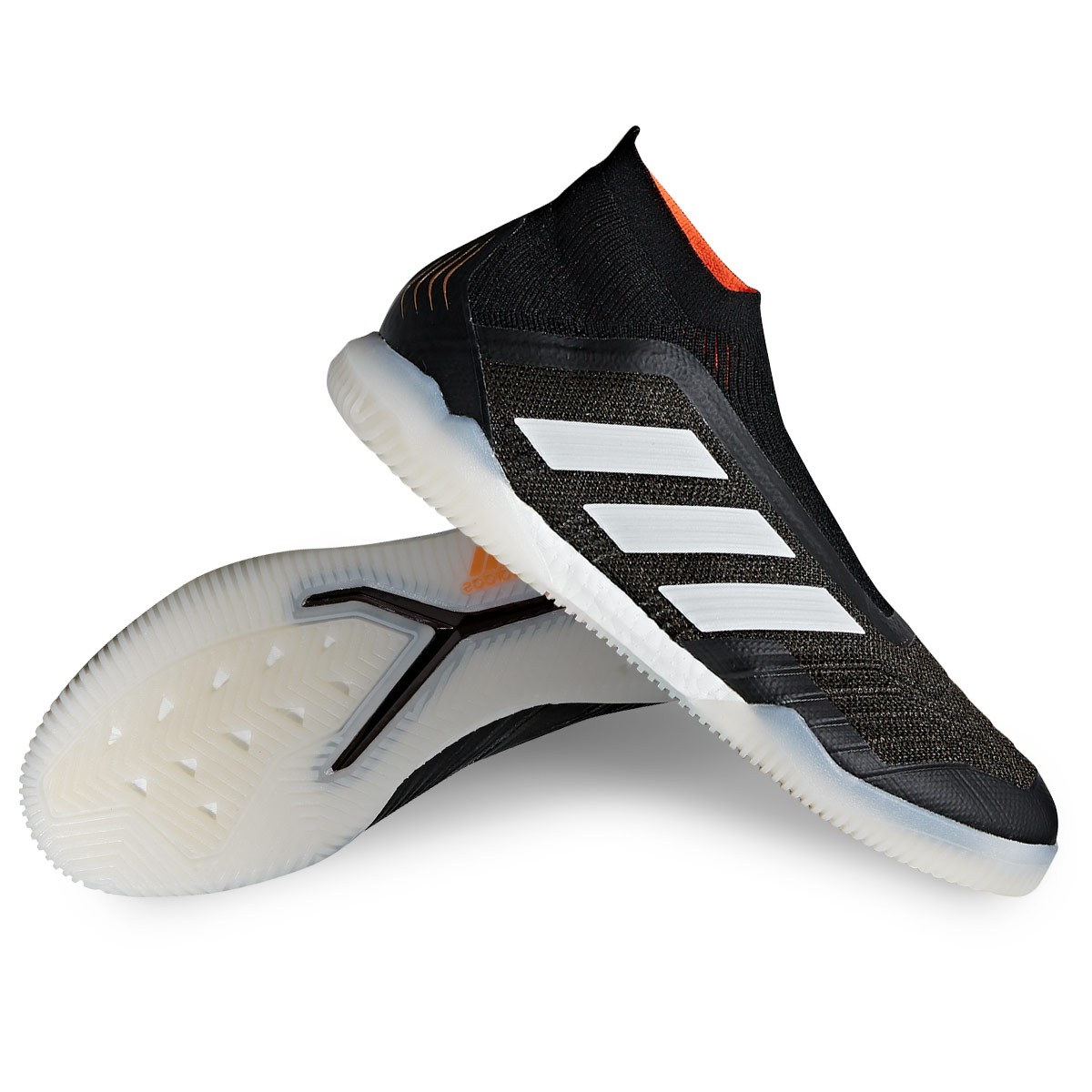 Futsal Boot adidas Predator Tango 18+ IN Core black-Solar re