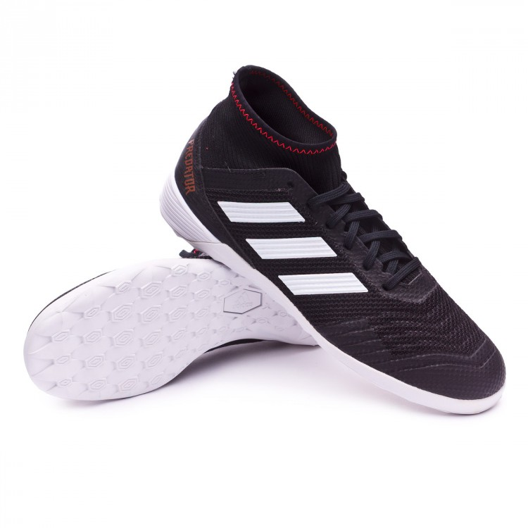 Zapatilla adidas Predator Tango 18.3 IN Core black-White ... 7c9cf86d40053