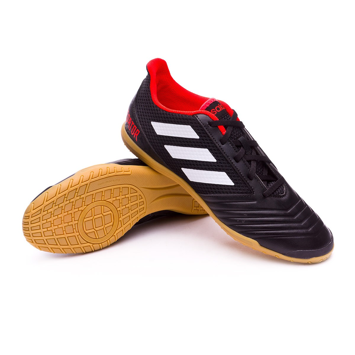 beca343ea9e7c Tenis adidas Predator Tango 18.4 Sala White-Core black-Real coral - Tienda  de fútbol Fútbol Emotion