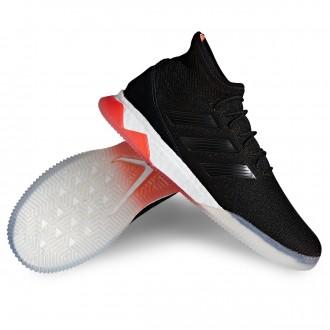 Sapatilha  adidas Predator Tango 18.1 TR White-Core black-Real coral