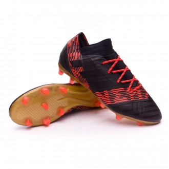 Bota  adidas Nemeziz 17.2 FG Core black-Solar red