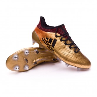 Chaussure  adidas X 17.1 SG Tactile gold metallic-Core black-Solar red