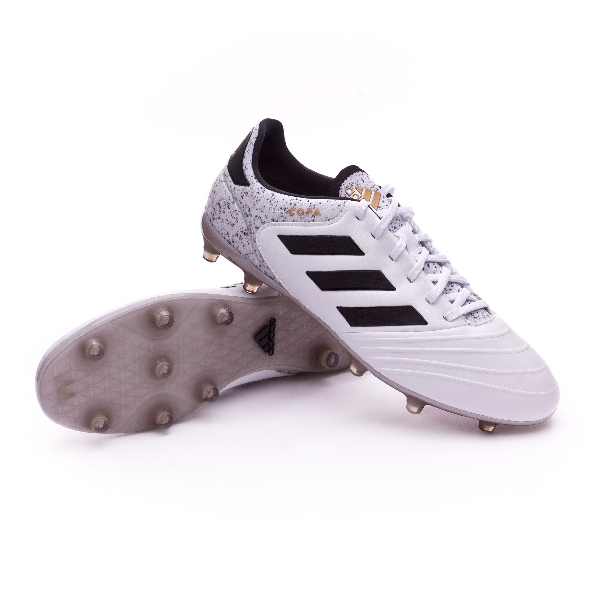 8cfa6d54cc2b adidas Copa 18.2 FG Football Boots. White-Core black-Tactile gold ...