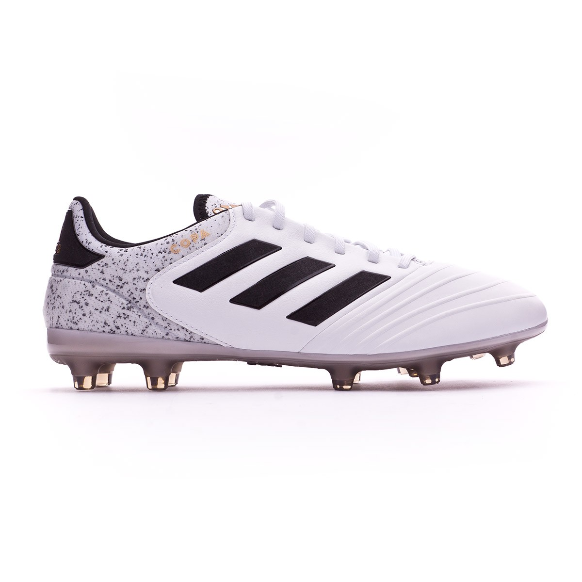 8e942e1cd8d0 Football Boots adidas Copa 18.2 FG White-Core black-Tactile gold metallic -  Football store Fútbol Emotion