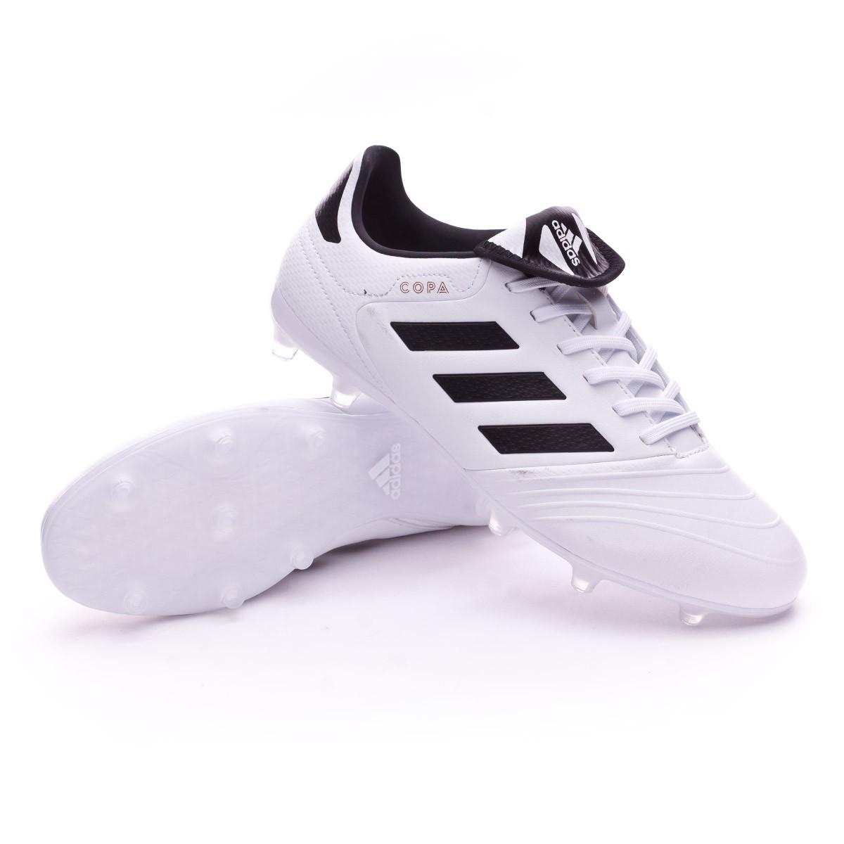 f28a7495a adidas Copa 18.3 FG Football Boots. White-Core black-Tactile gold metallic  ...