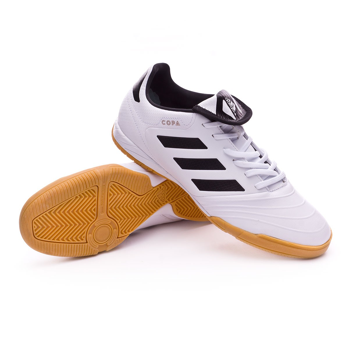 3717be597af Futsal Boot adidas Copa Tango 18.3 IN White-Core black - Football ...