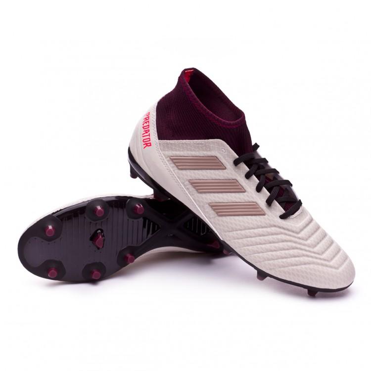 ee4ac2806bb Football Boots adidas Woman Predator 18.3 FG Talc-Vapour grey ...