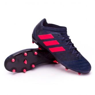Bota  adidas Nemeziz 17.3 FG Mujer Trace blue-Red zest-Core black