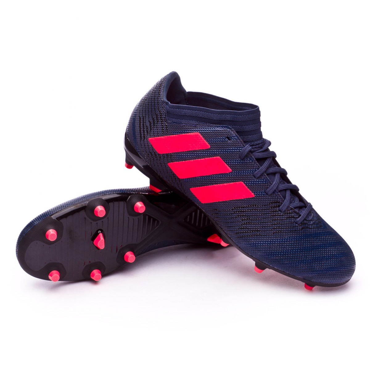 premium selection 09436 4b0bc Zapatos de fútbol adidas Nemeziz 17.3 FG Mujer Trace blue-Red zest-Core  black - Soloporteros es ahora Fútbol Emotion