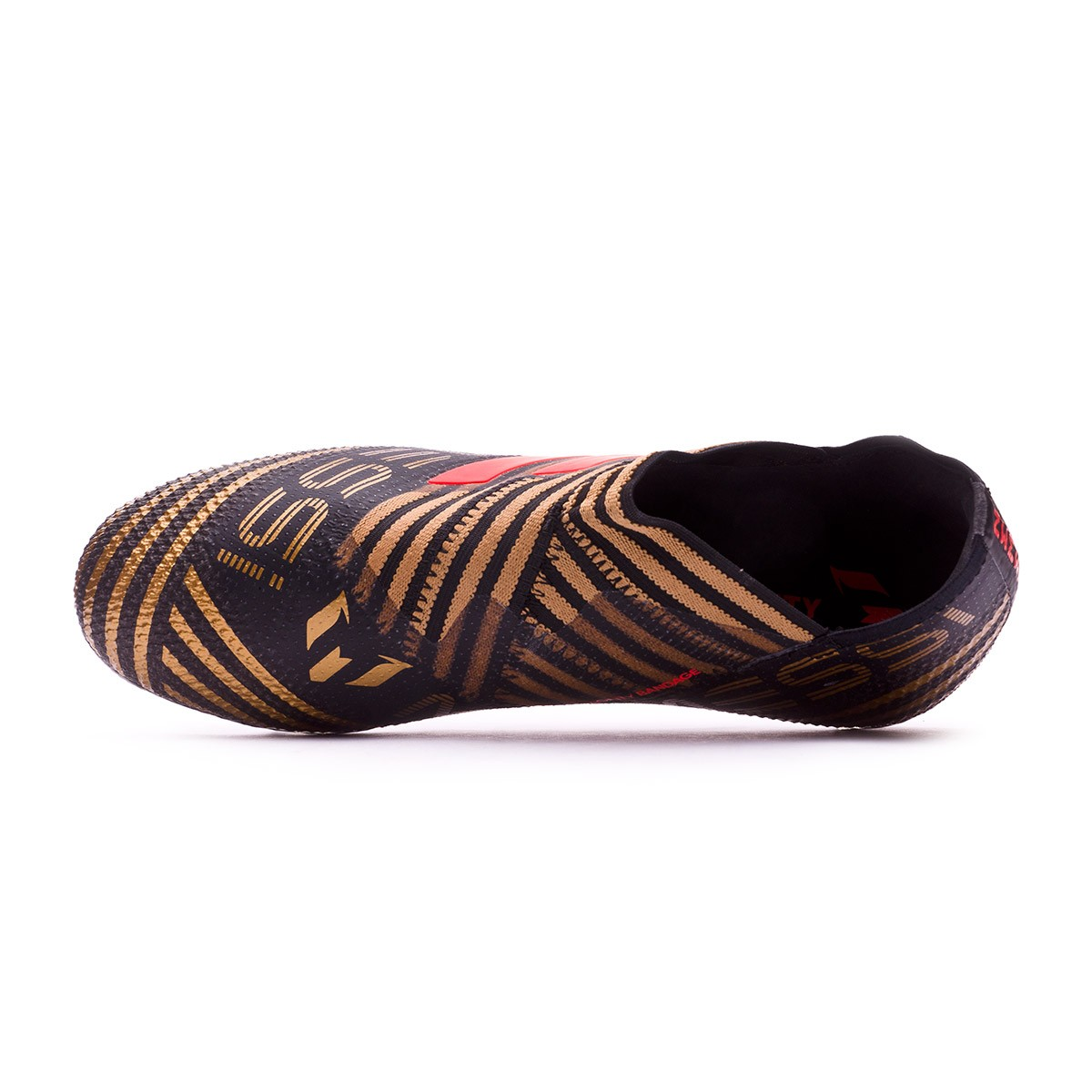 2734af1f6 Football Boots adidas Kids Nemeziz Messi 17+ 360 Agility Core black-Solar  red-Tactile gold metallic - Tienda de fútbol Fútbol Emotion