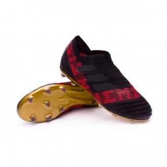 Bota  adidas Nemeziz 17+ 360 Agility FG Niño Core black-Solar red