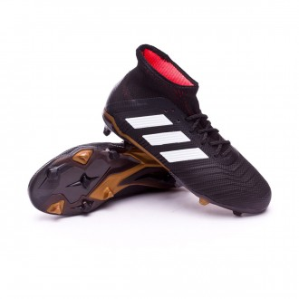 Kids Predator 18.1 FG Core black-White-Gold metallic-Solar red