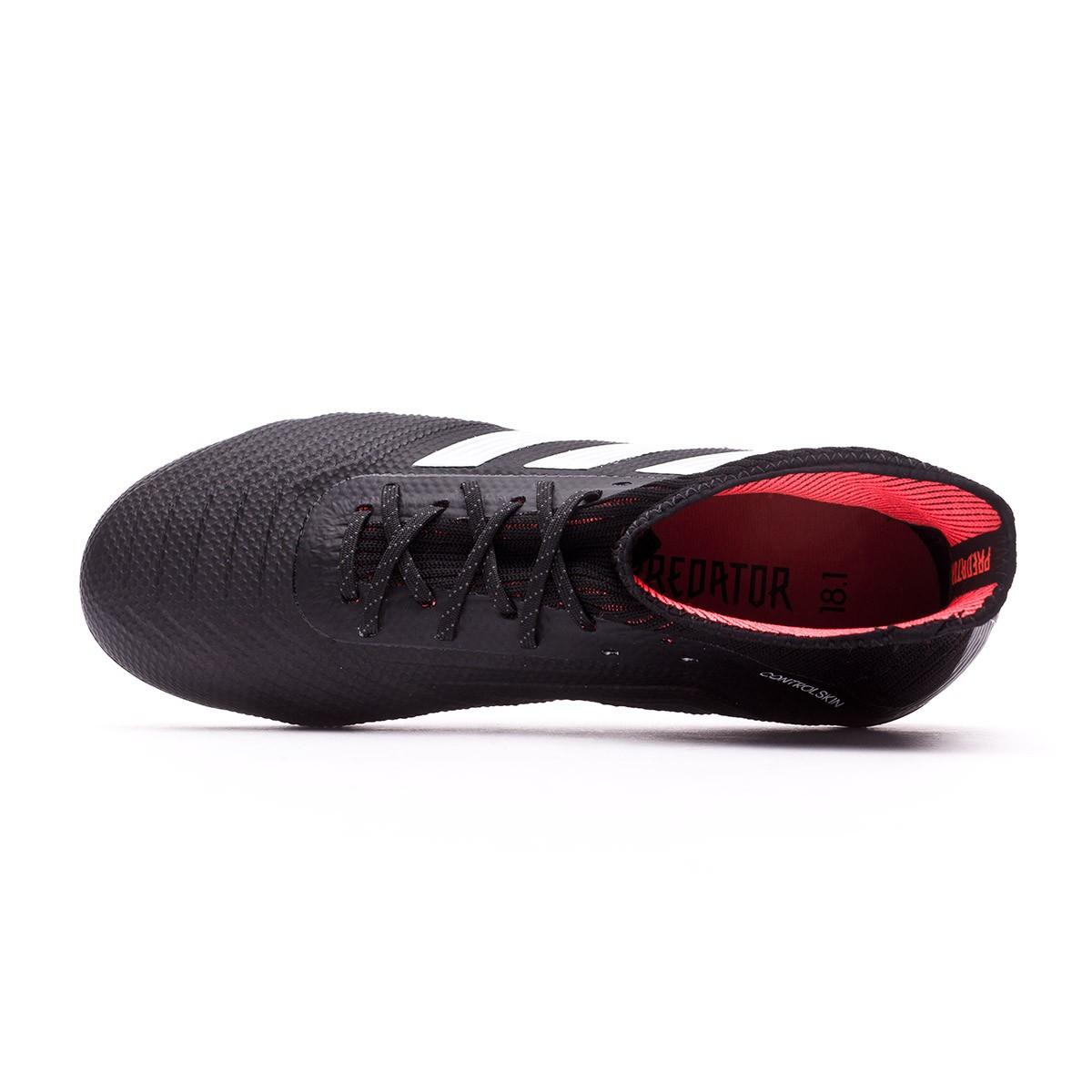 c8dceaafb Zapatos de fútbol adidas Predator 18.1 FG Niño Core black-White-Gold  metallic-Solar red - Tienda de fútbol Fútbol Emotion