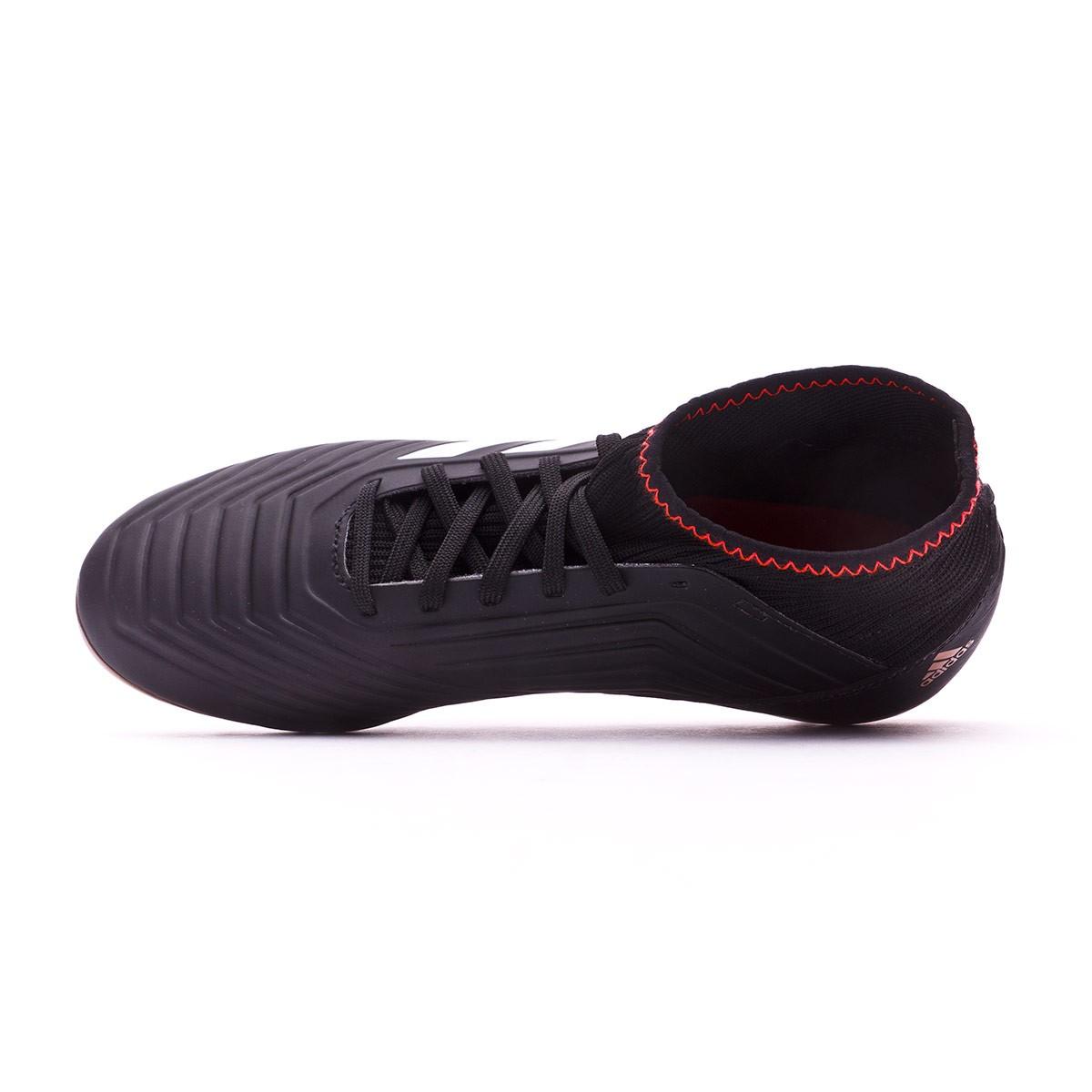 new styles 81add b9b9d Boot adidas Kids Predator 18.3 AG Core black-White-Gold metallic-Solar red  - Leaked soccer