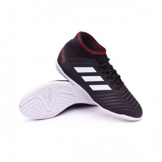 Zapatilla  adidas Predator Tango 18.3 IN Niño Core black-White-Solar red