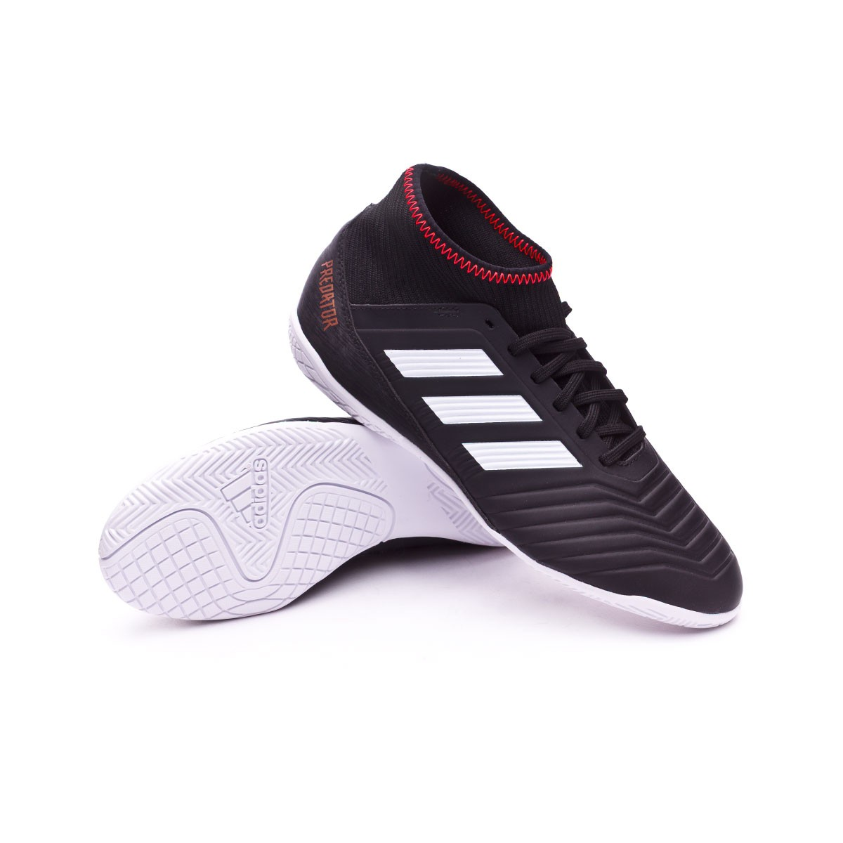 adidas Kids Predator Tango 18.3 IN Futsal Boot. Core black-White-Solar ... 2e1665ea7