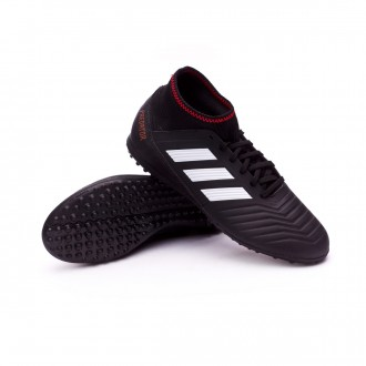 Zapatilla  adidas Predator Tango 18.3 Turf Niño Core black-Solar red-Gold metallic
