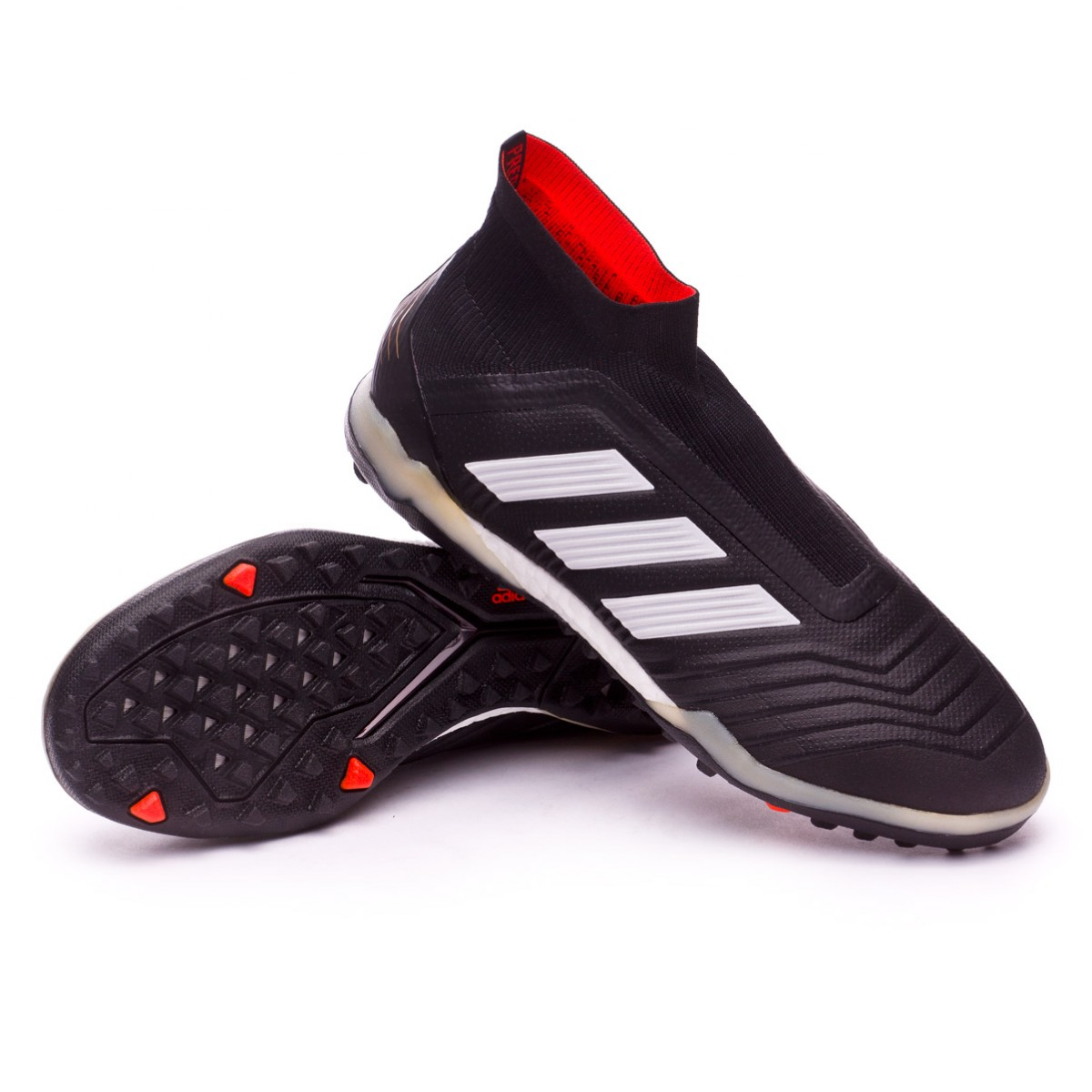 Football Boot adidas Predator Tango 18+ Turf Core black-Whit