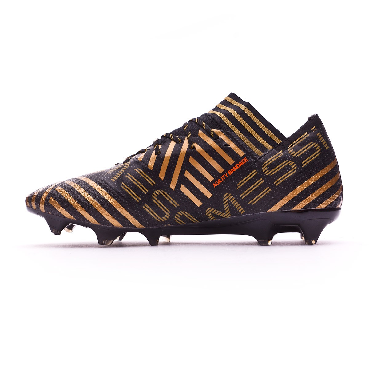 39c5efd702e Football Boots adidas Nemeziz Messi 17.1 FG Core black-Solar red-Tactile  gold metallic - Football store Fútbol Emotion