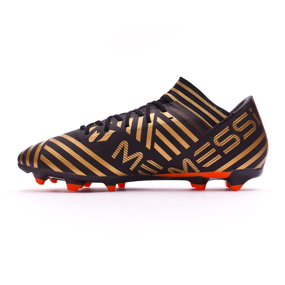 0fd2581f1d327e Boot adidas Nemeziz Messi 17.3 FG Core black-Solar red-Tactile gold  metallic - Football store Fútbol Emotion