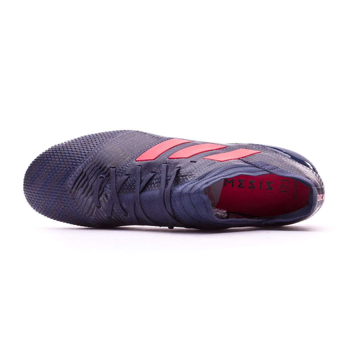 a831d29e8f4 Football Boots adidas Woman Nemeziz 17.1 FG Trace blue-Red zest-Core black  - Football store Fútbol Emotion