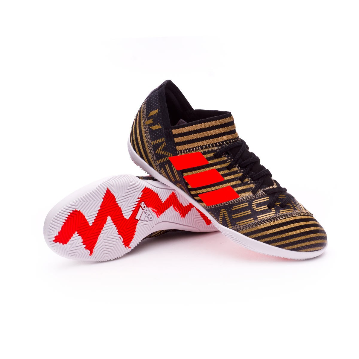 fba793ffca0f Futsal Boot adidas Kids Nemeziz Messi Tango 17.3 IN Core black-Solar ...